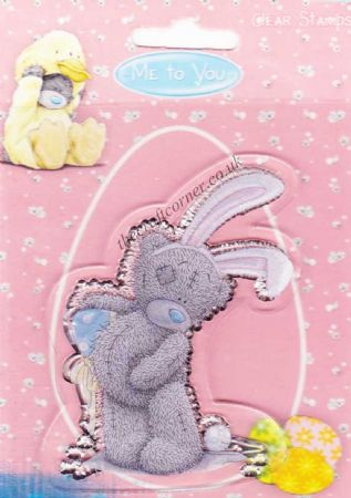 Me To You Easter Bunny Bear Clear Rubber Stamp